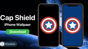 Iphone Wallpaper Captain Shield
