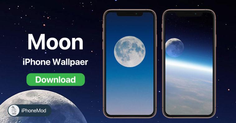 Iphone Wallpaper Earth Moon
