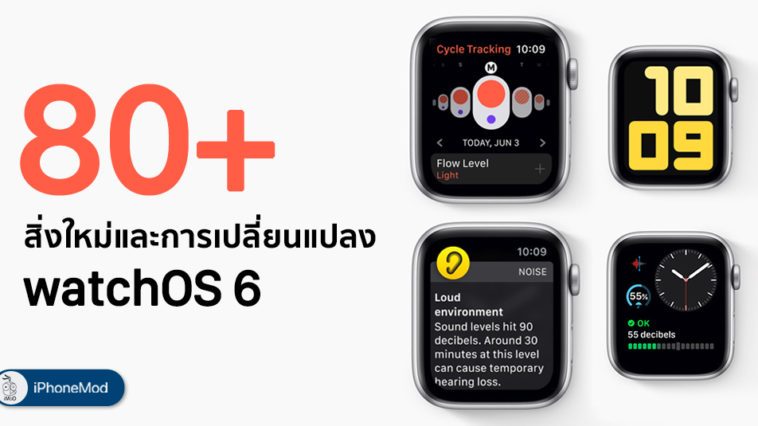 Total New Feature And Changes In Watchos 6