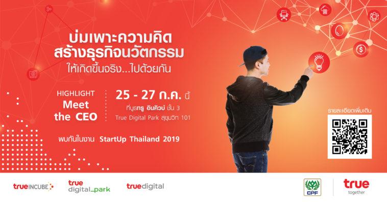 True Incube Start Up Thailand 2019