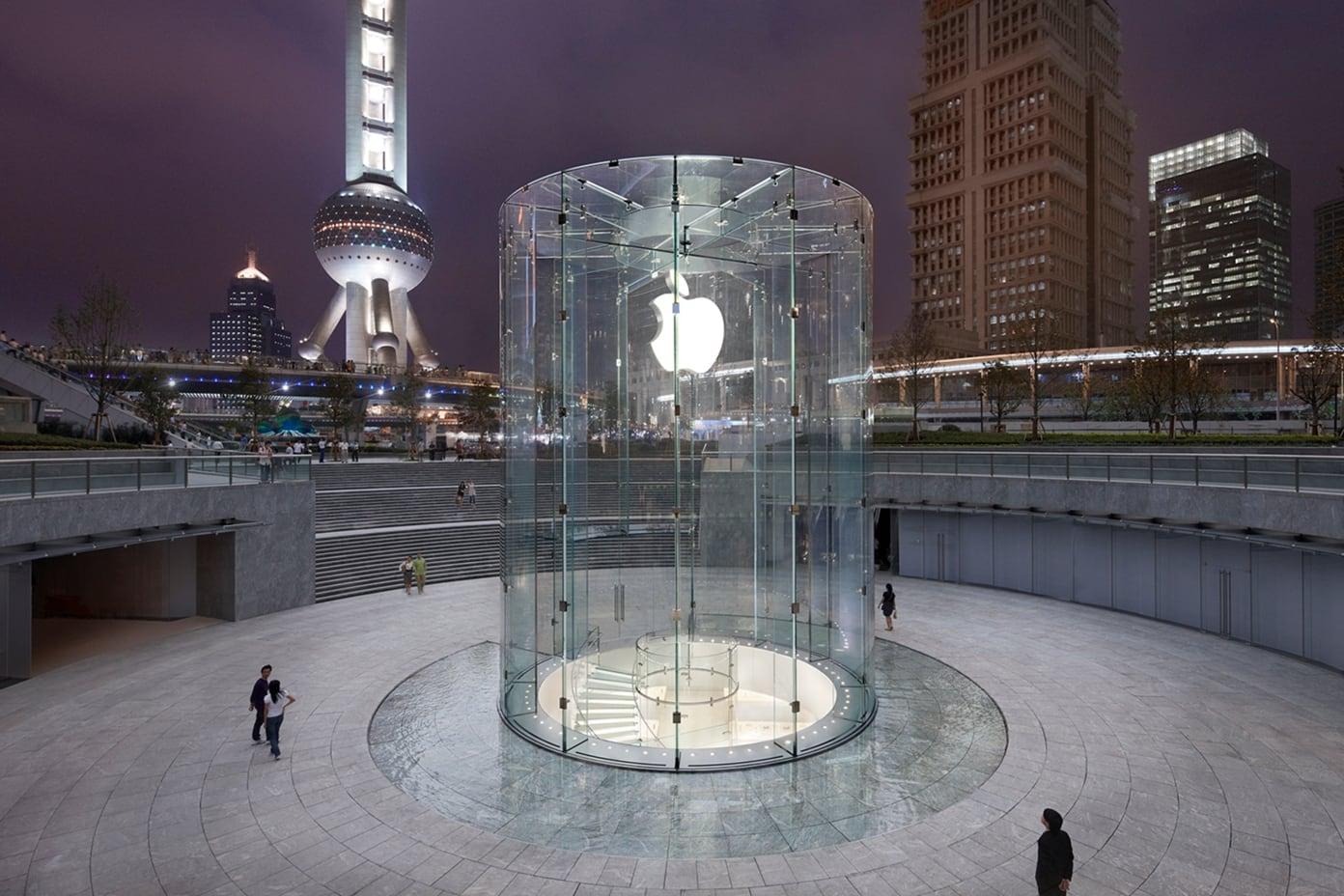 11 Apple Pudong China