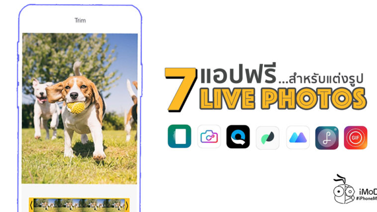 7 App For Customiz Live Photos Iphone