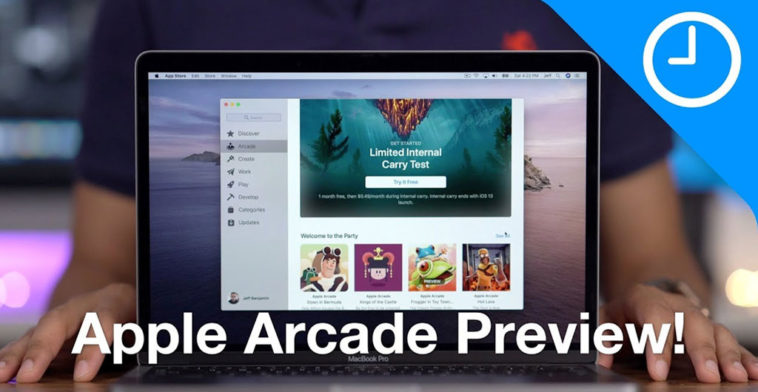 9to5mac Try To Play Apple Arcade Before Launch