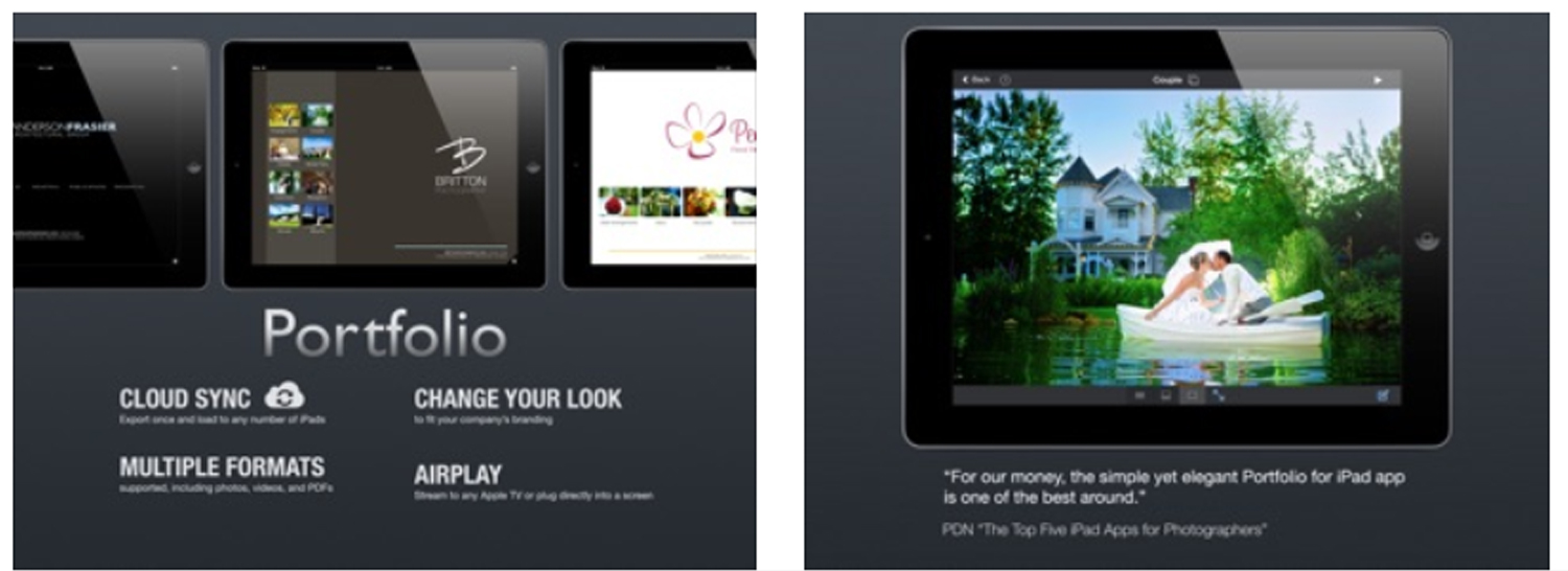 Create Portfolio By Ipad 10