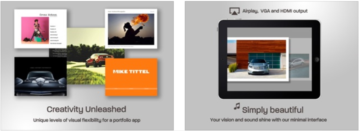 Create Portfolio By Ipad 12