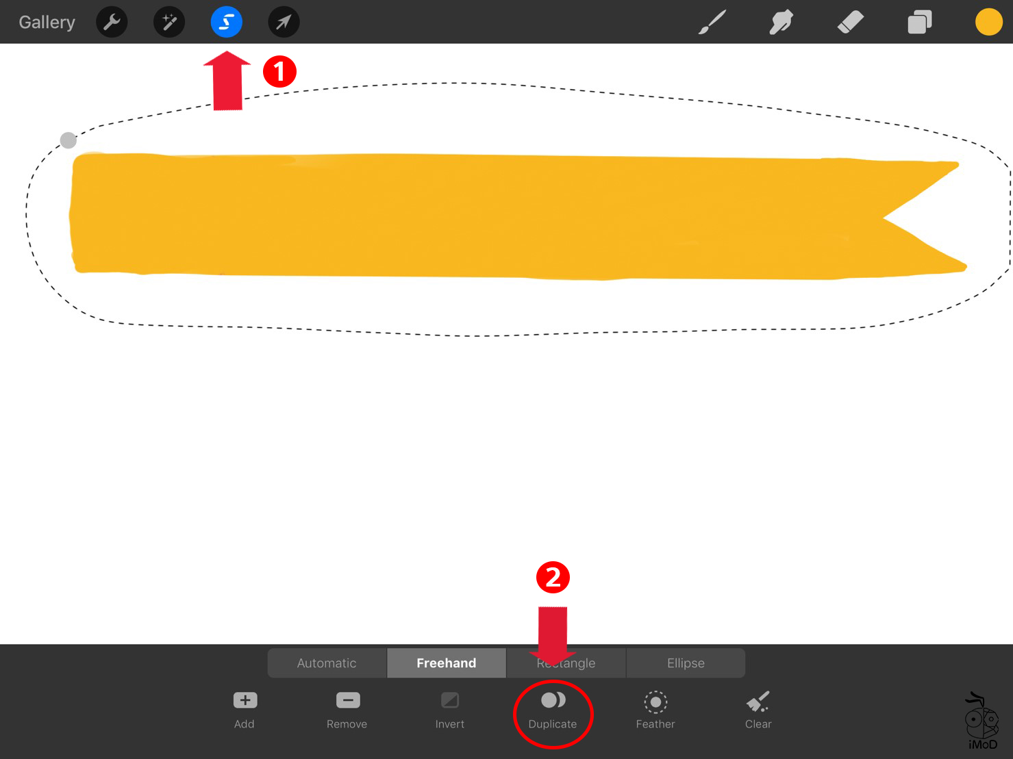 How To Masking Tape Procreate Use To Goodnotes 02