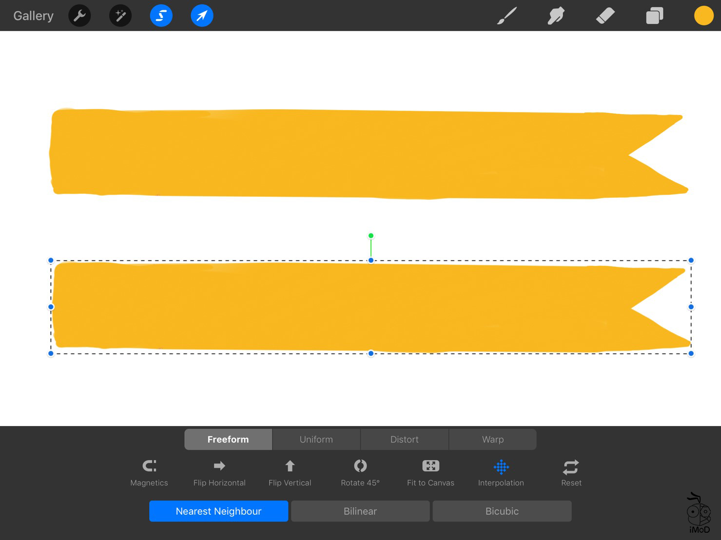 How To Masking Tape Procreate Use To Goodnotes 04