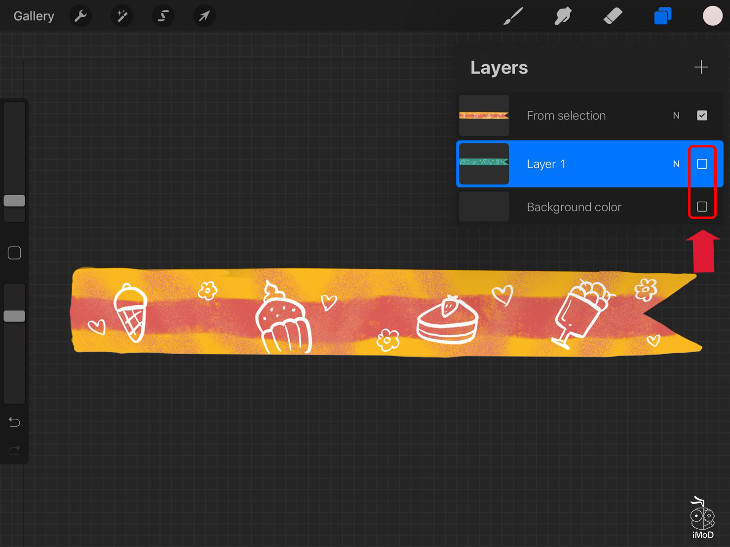 How To Masking Tape Procreate Use To Goodnotes 09