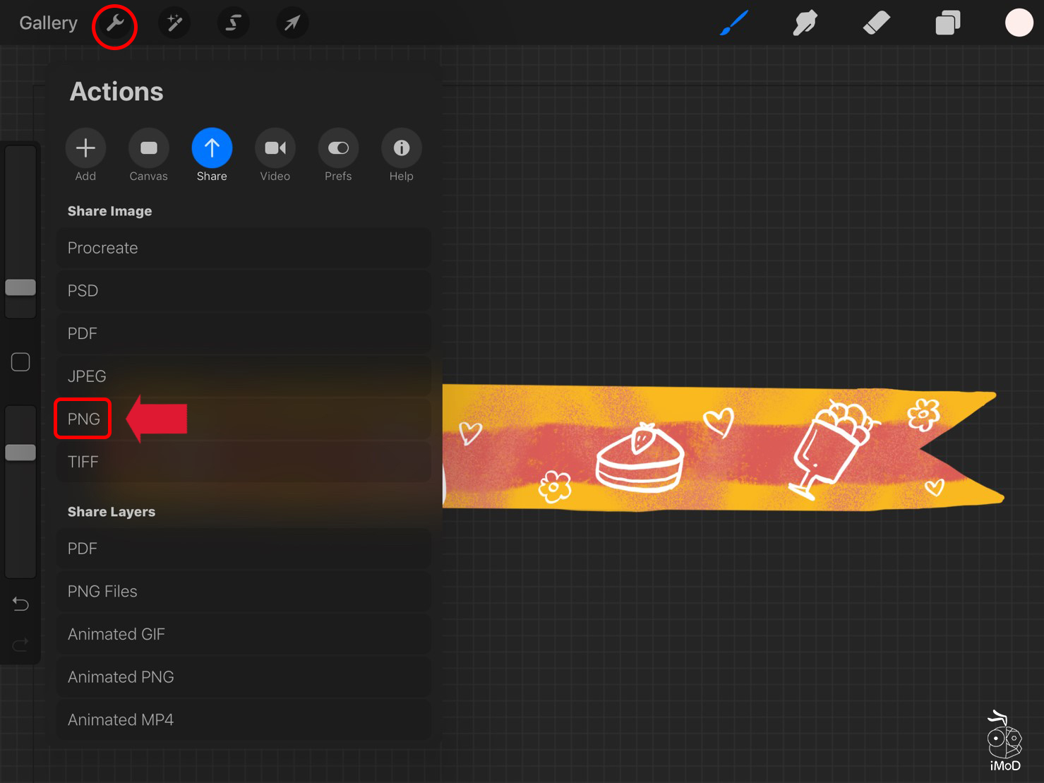 How To Masking Tape Procreate Use To Goodnotes 10
