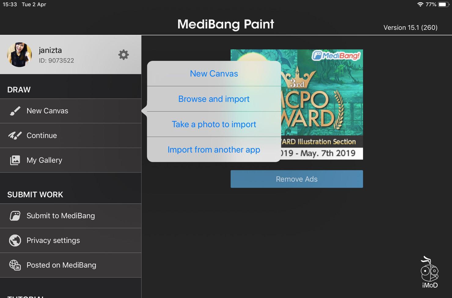 Review Medibang 1