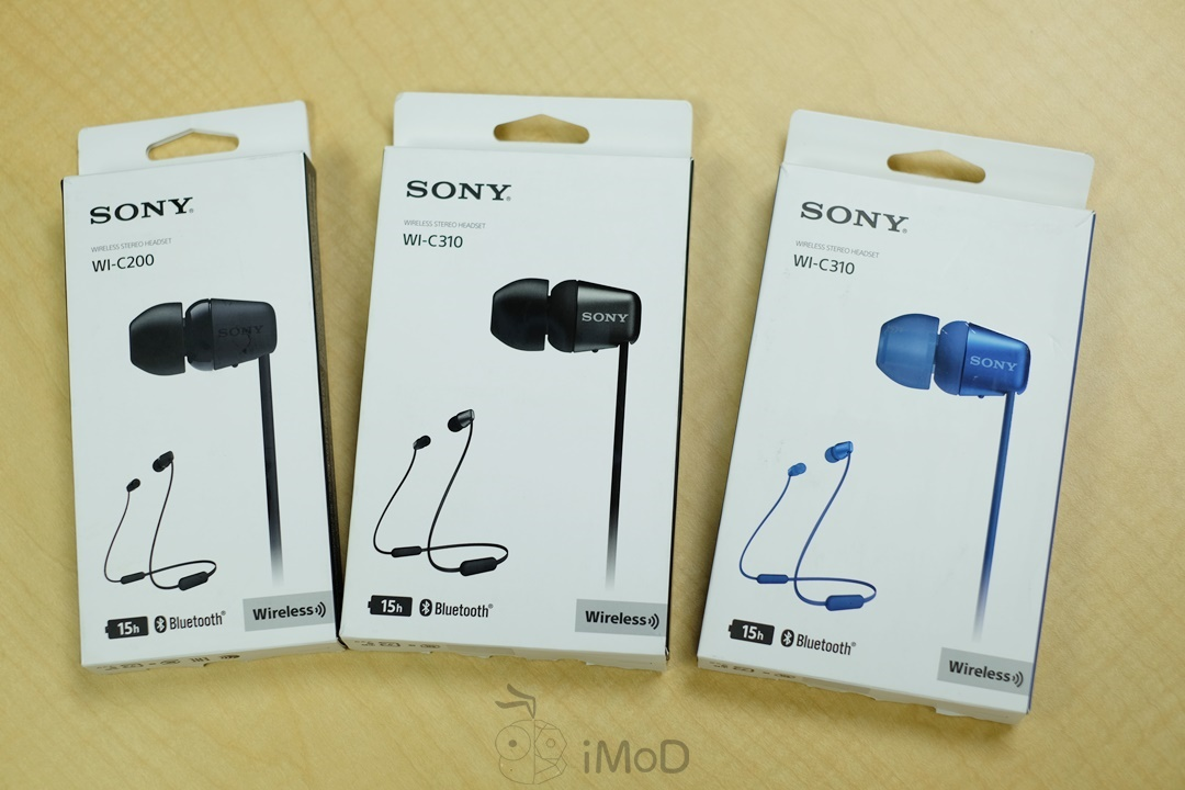 Sony WI-C200 และ Sony WI-C310