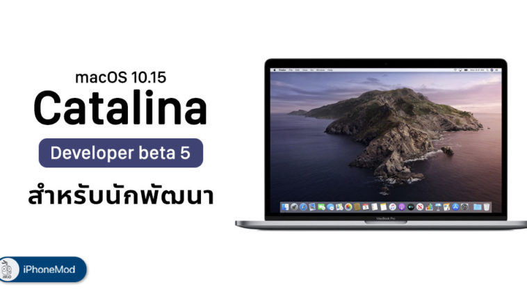 Apple Release Macos 10 15 Catalina Developer Beta 5