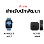 Apple Release Watchos 6 Tvos 13 Macos Developer Beta 6