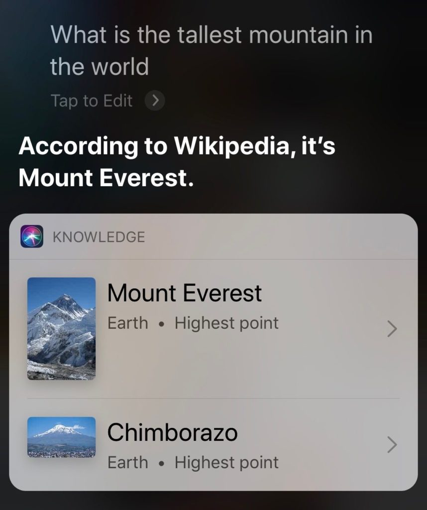 Apple Testing Siri Web Answer Smarter 2
