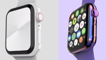 Cover Apple Watch Titanium Ceramic Render By Everythingapplepro