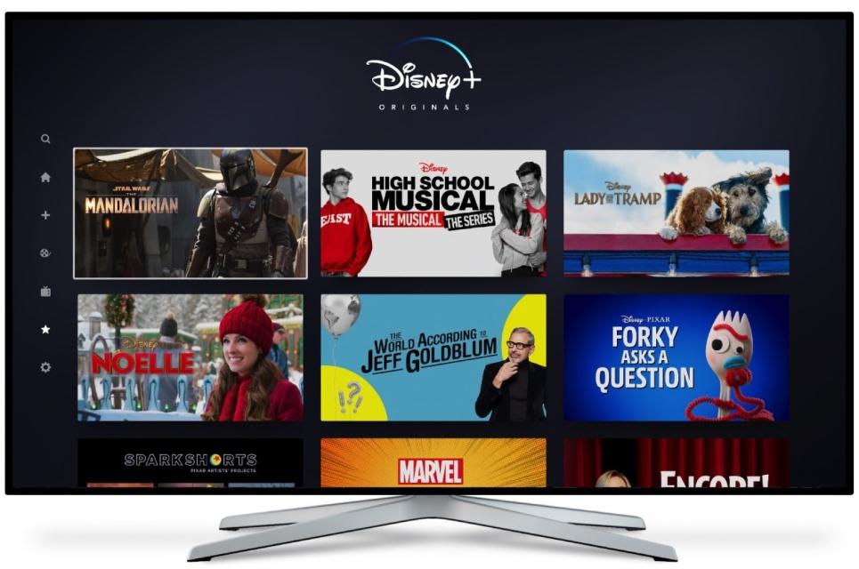Disney Plus Ui On Iphone Apple Tv 2