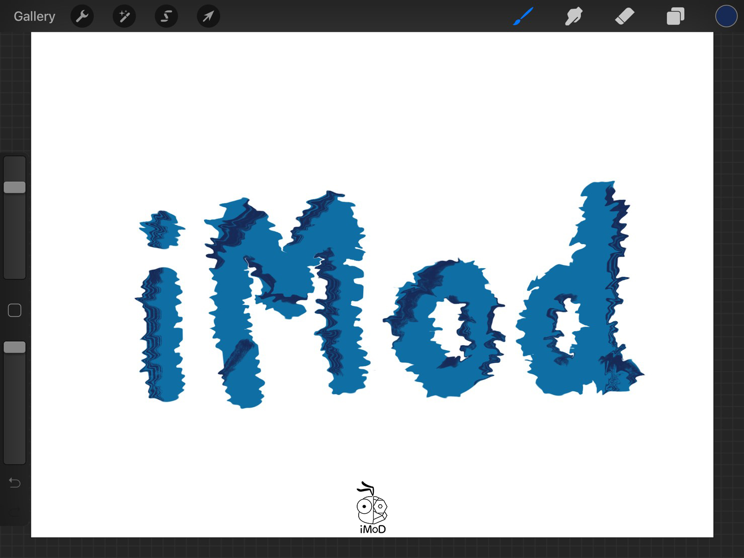 How To Create Font Under World 09