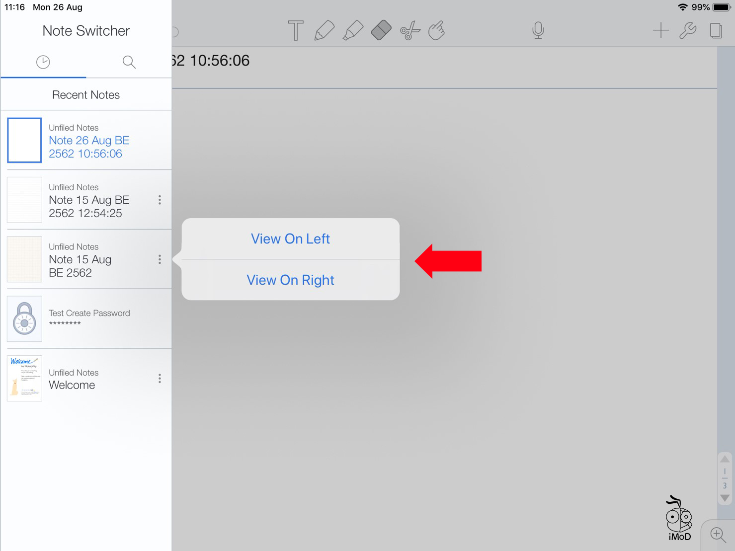 How To Open 2 Page Notability 03
