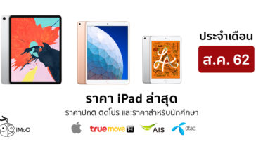 Ipad Price List Aug 2019 Cover