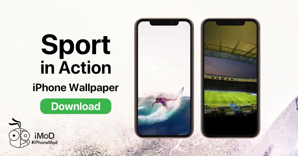 แจกภาพพื้นหลัง (Wallpaper) ชุด Sport In Action สำหรับ IPhone