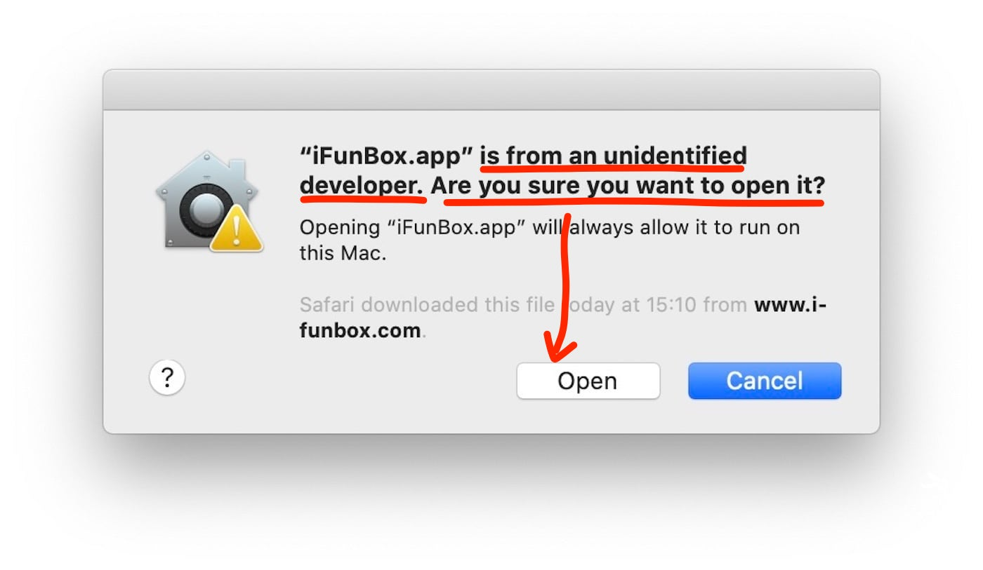 Macos Fix Unidentified Developer 8
