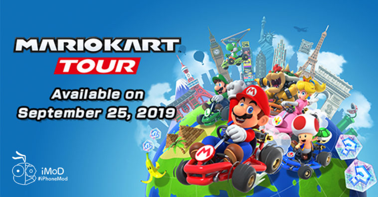 Mario Kart Tour Release On Iphone Android 25 Sep 2019