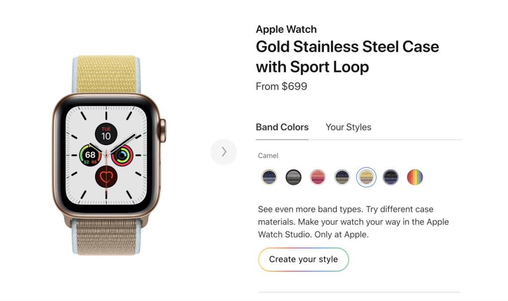 9 Things Interesting Apple Watch Series 5 Not Talk On Stage Event 2019 2