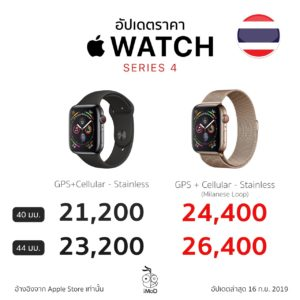 Apple Watch Series 4 Price Stainless