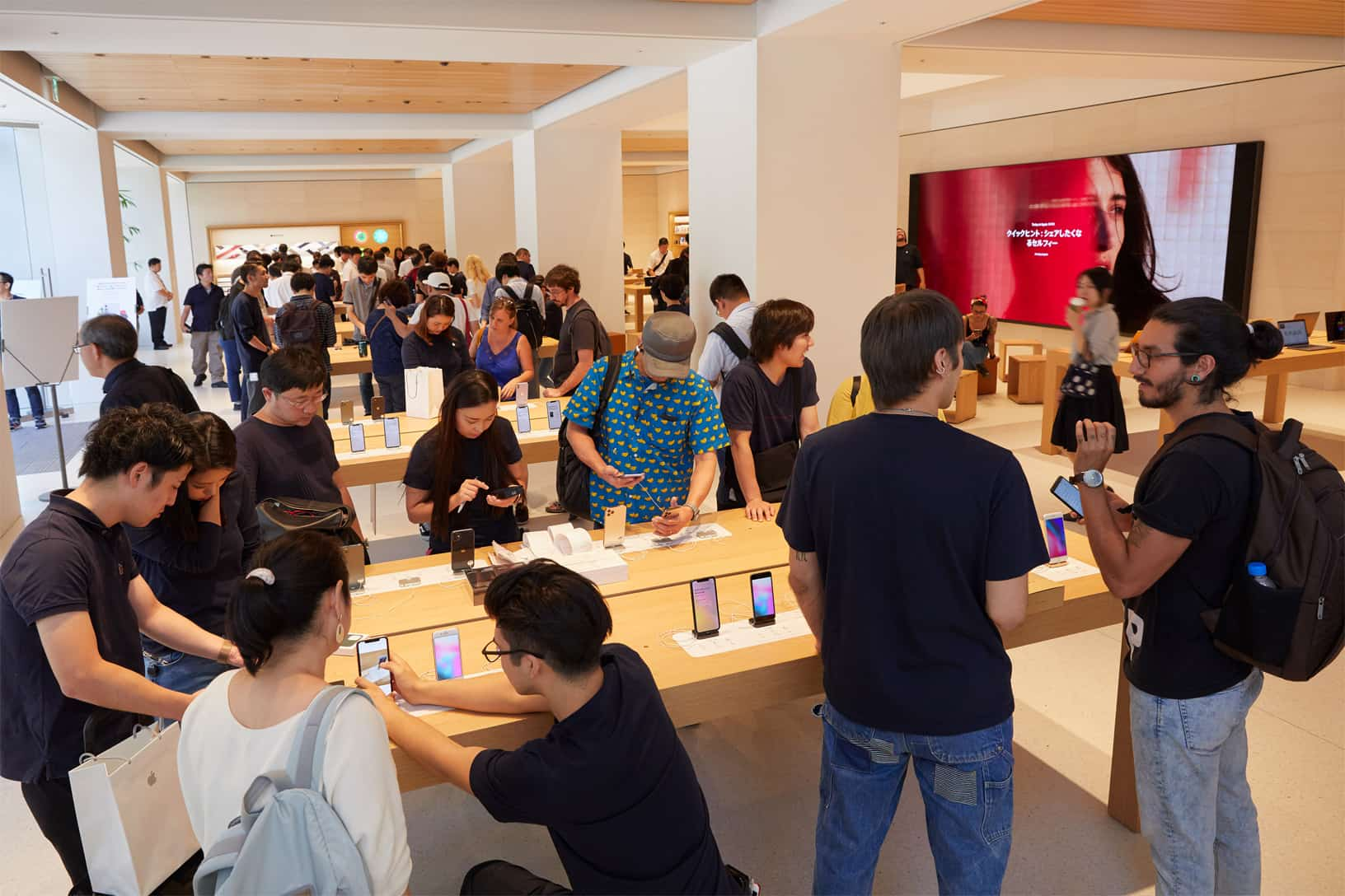 Apple Iphone 11 Pro Apple Watch 5 Availability Tokyo Store Interior 092019