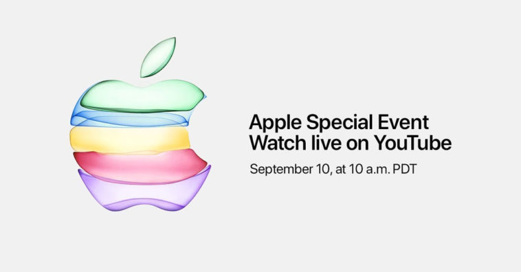Apple Event 2019 Streaming On Youtube