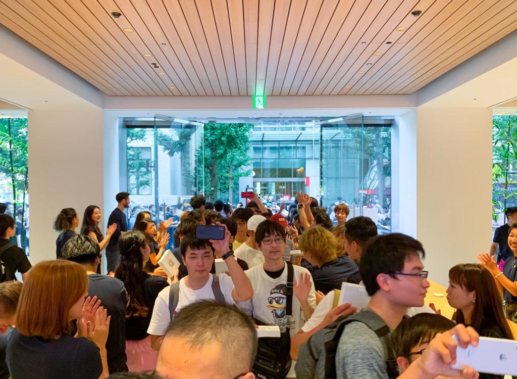 Apple Marunouch Grand Openning Tokyo Japan 2019 4