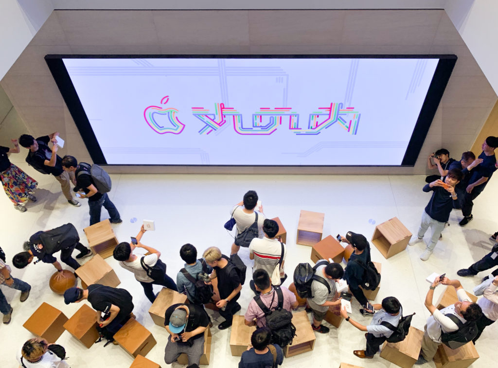 Apple Marunouch Grand Openning Tokyo Japan 2019 5