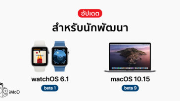 Apple Release Watchos 6 1 Beta 1 And Macos Catalina Beta 9 Developer