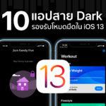 Dark Mode Support Application App Store Ios 13