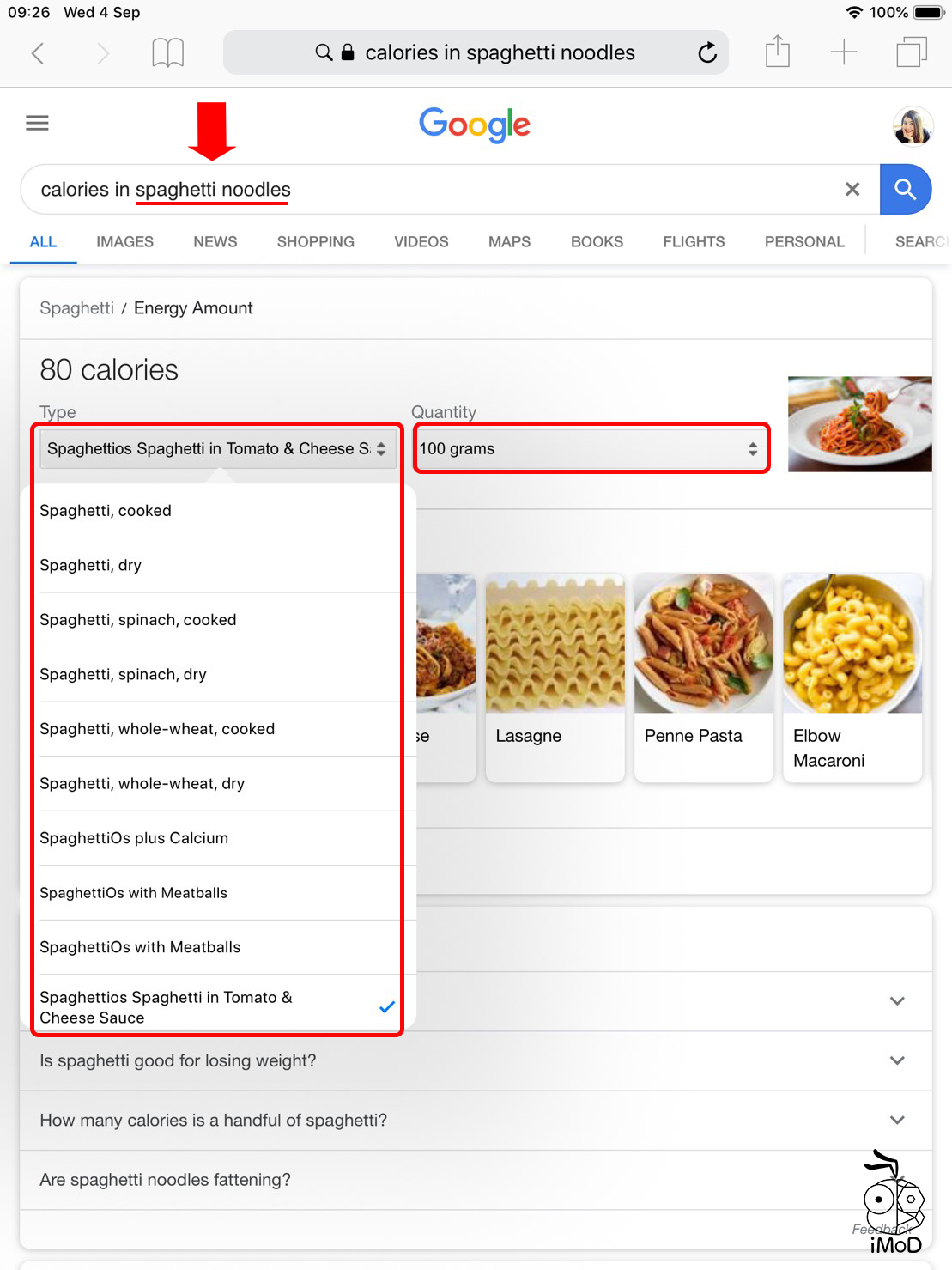 Feature Calorie In By Google 02