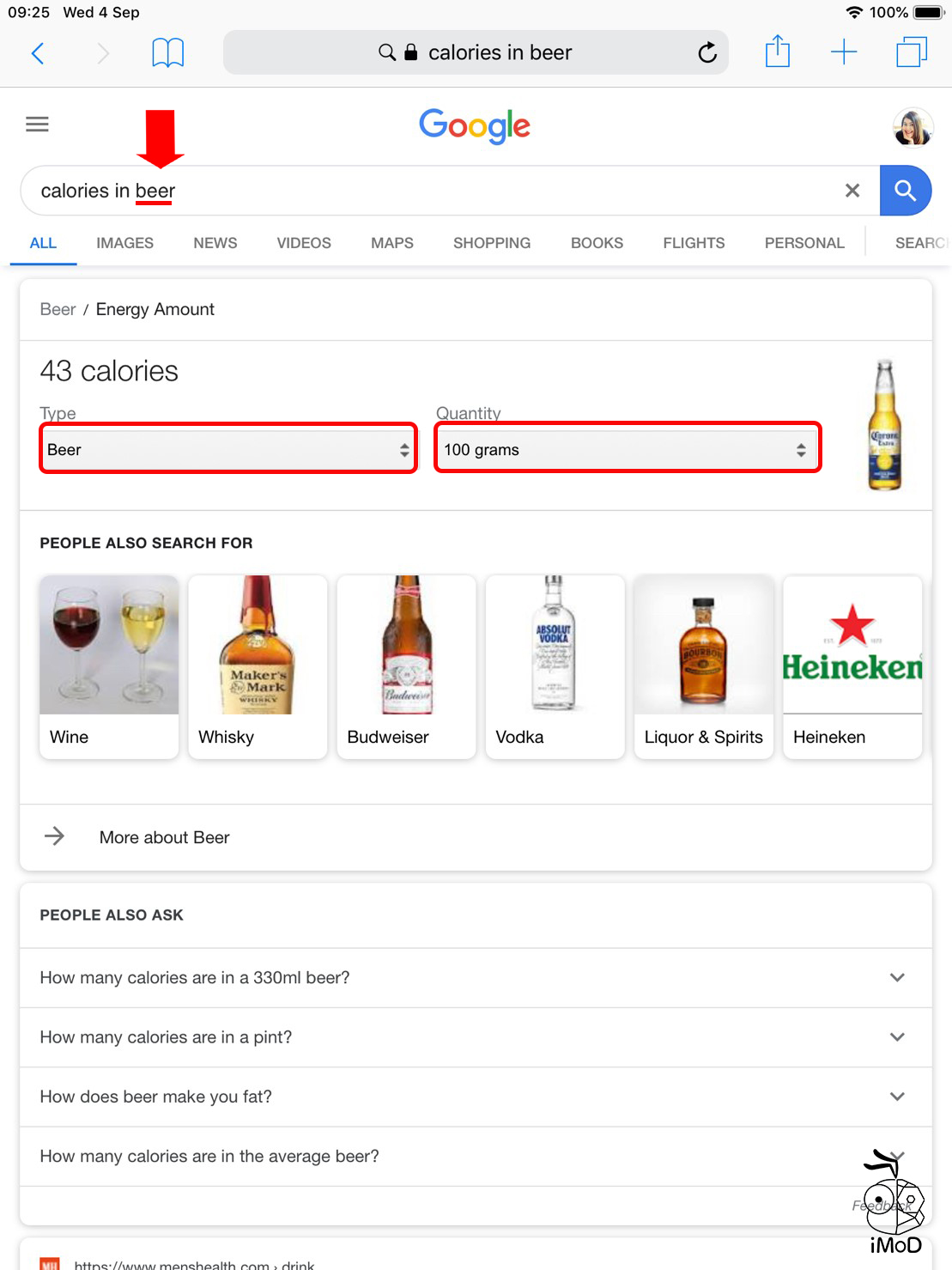 Feature Calorie In By Google 03