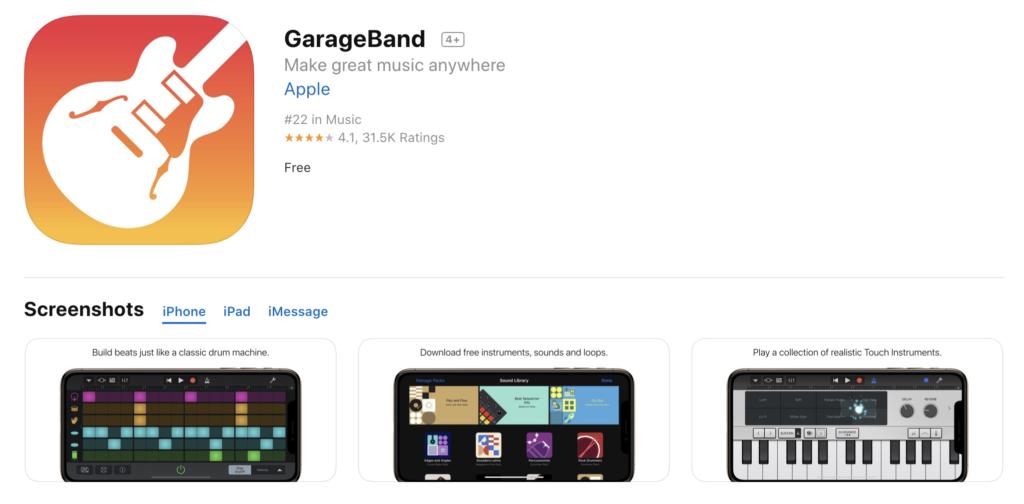 Garage Band Update Support Ios 13 1