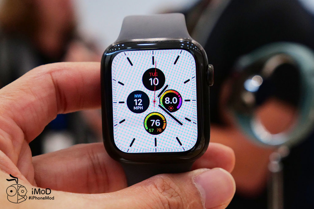 Hemes Space Black And Titanium Apple Watch Series 5 First Time 9