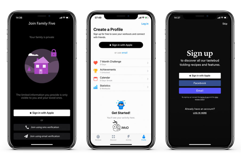 How To Sign In With Apple On Iphone In Ios 13 1