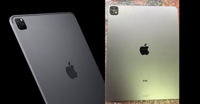 Ipad Pro 2019 Dummy Triple Lens Photo Leaks