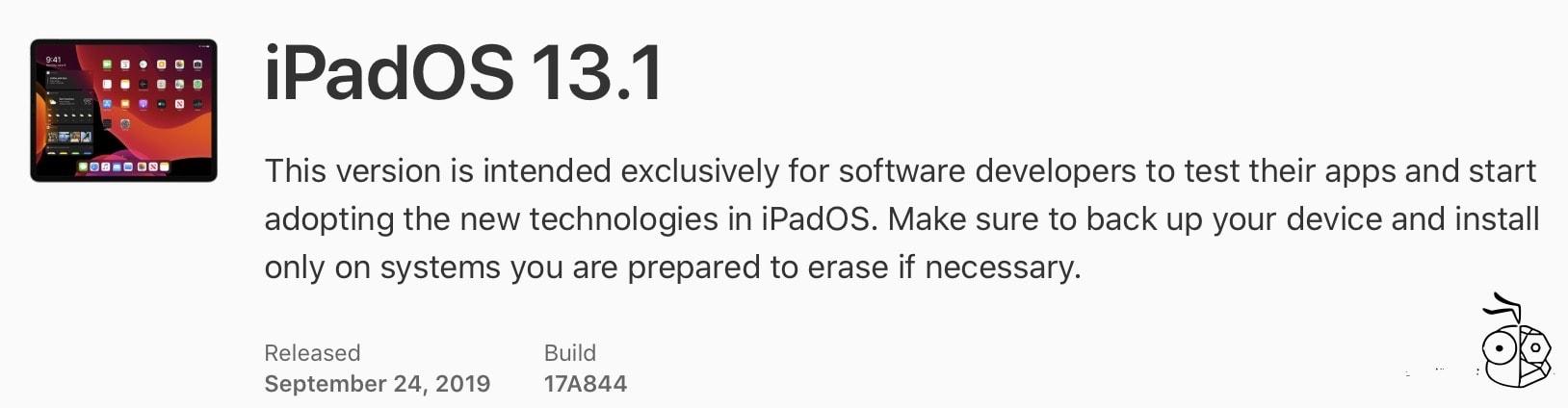 Ipados 13.1 Build Number