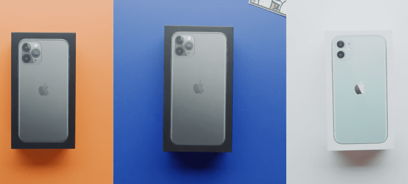 Iphone 11 Iphone 11 Pro Unbox Video Mkbhd Img 1