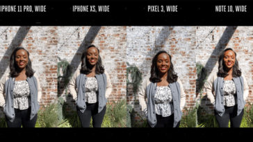 Iphone 11 Pro Camera Compare With Pixel3 Note10 By Theverge