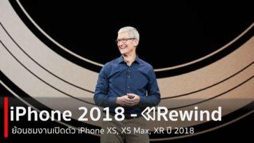Iphone 2018 Rewind Cover