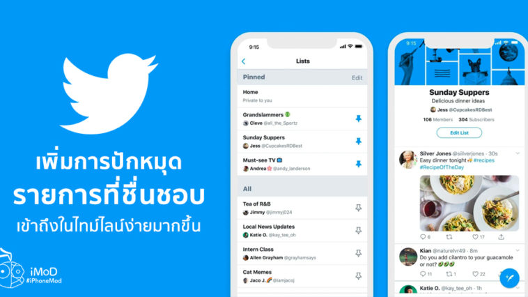 Twitter New Feature Pin Favorite Lists Easy Access In Timeline