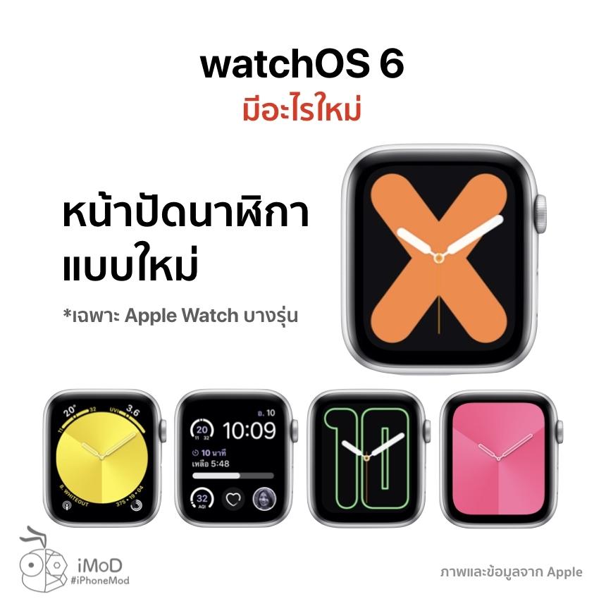 Watchos 6 Released 20 Sep 2019 1
