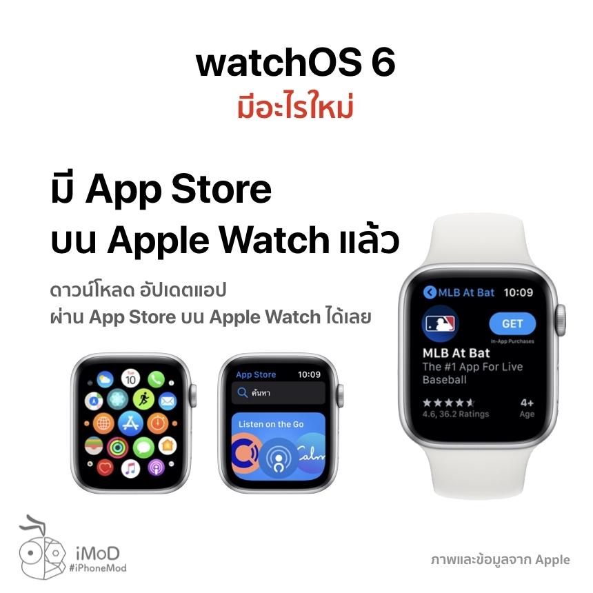 Watchos 6 Released 20 Sep 2019 3