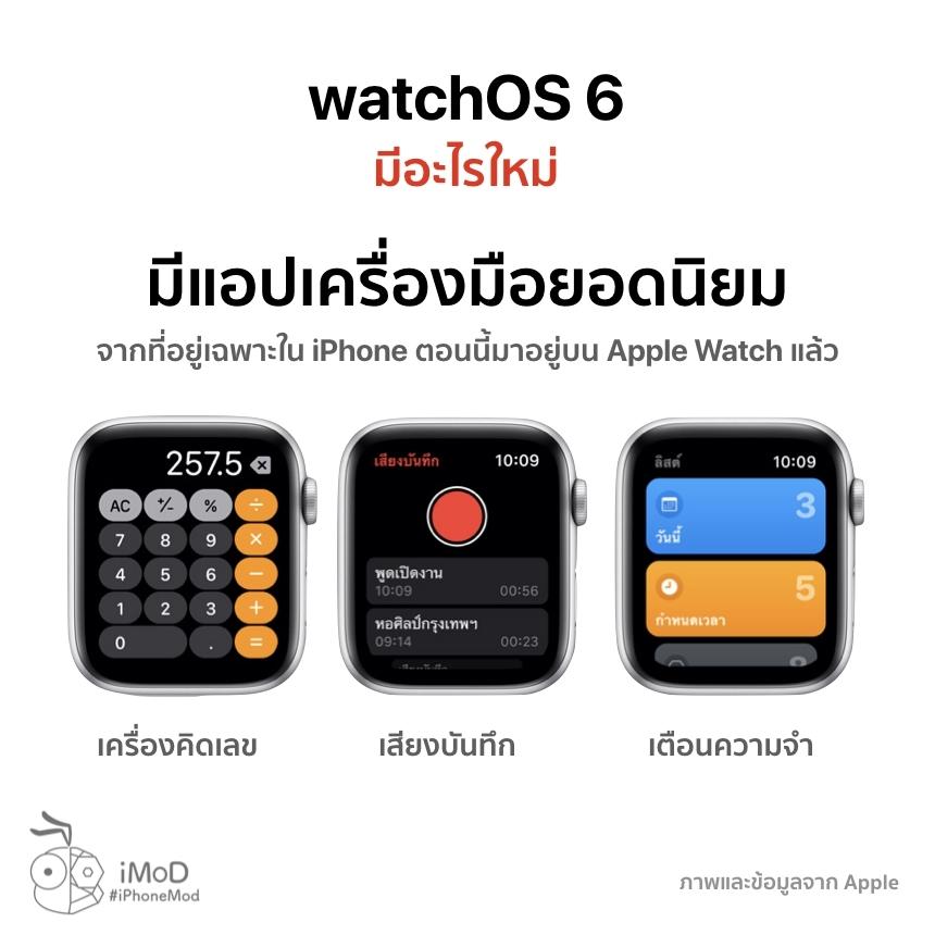 Watchos 6 Released 20 Sep 2019 4