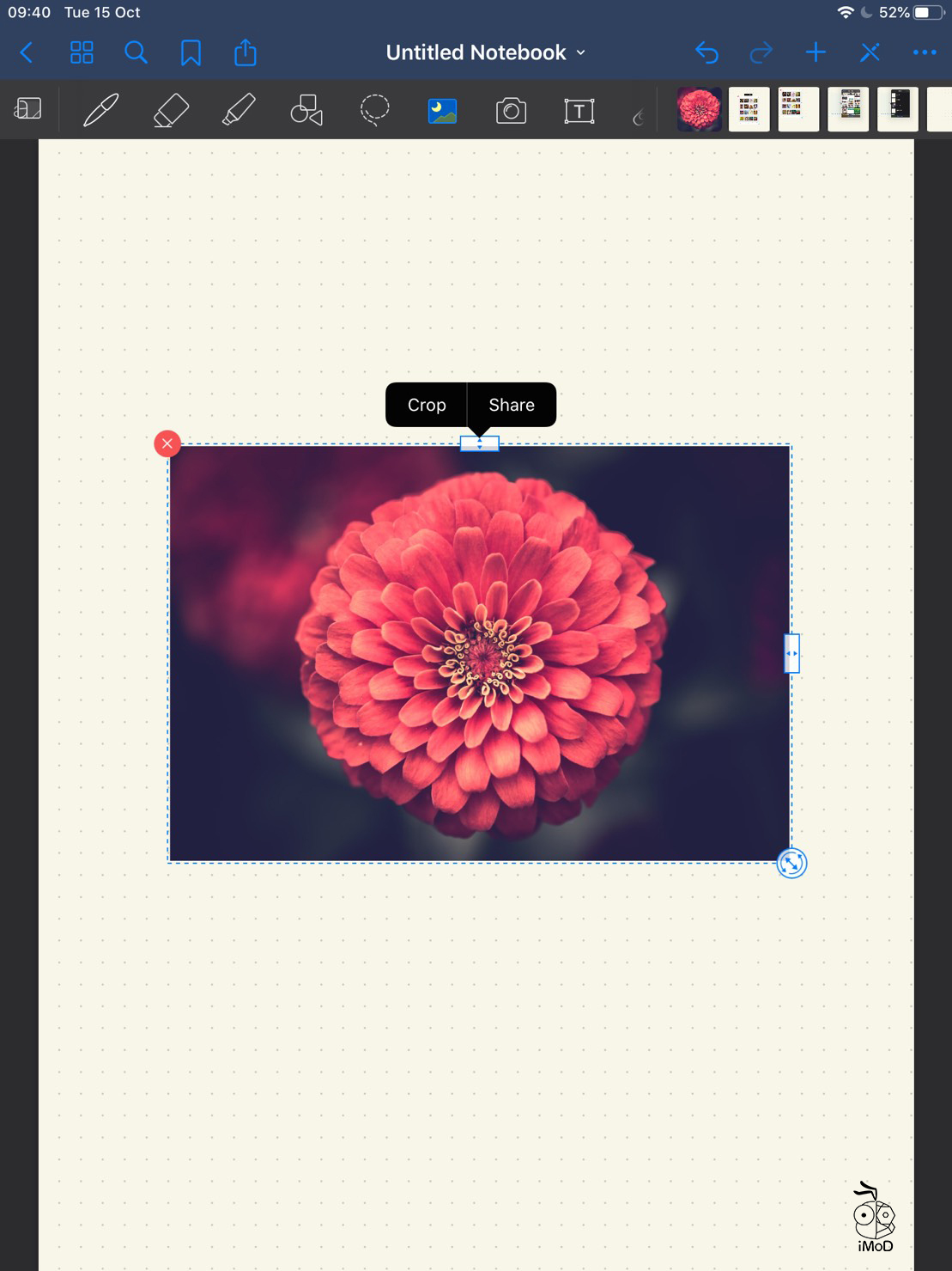 04 How To Quick Import Image Goodnotes 5