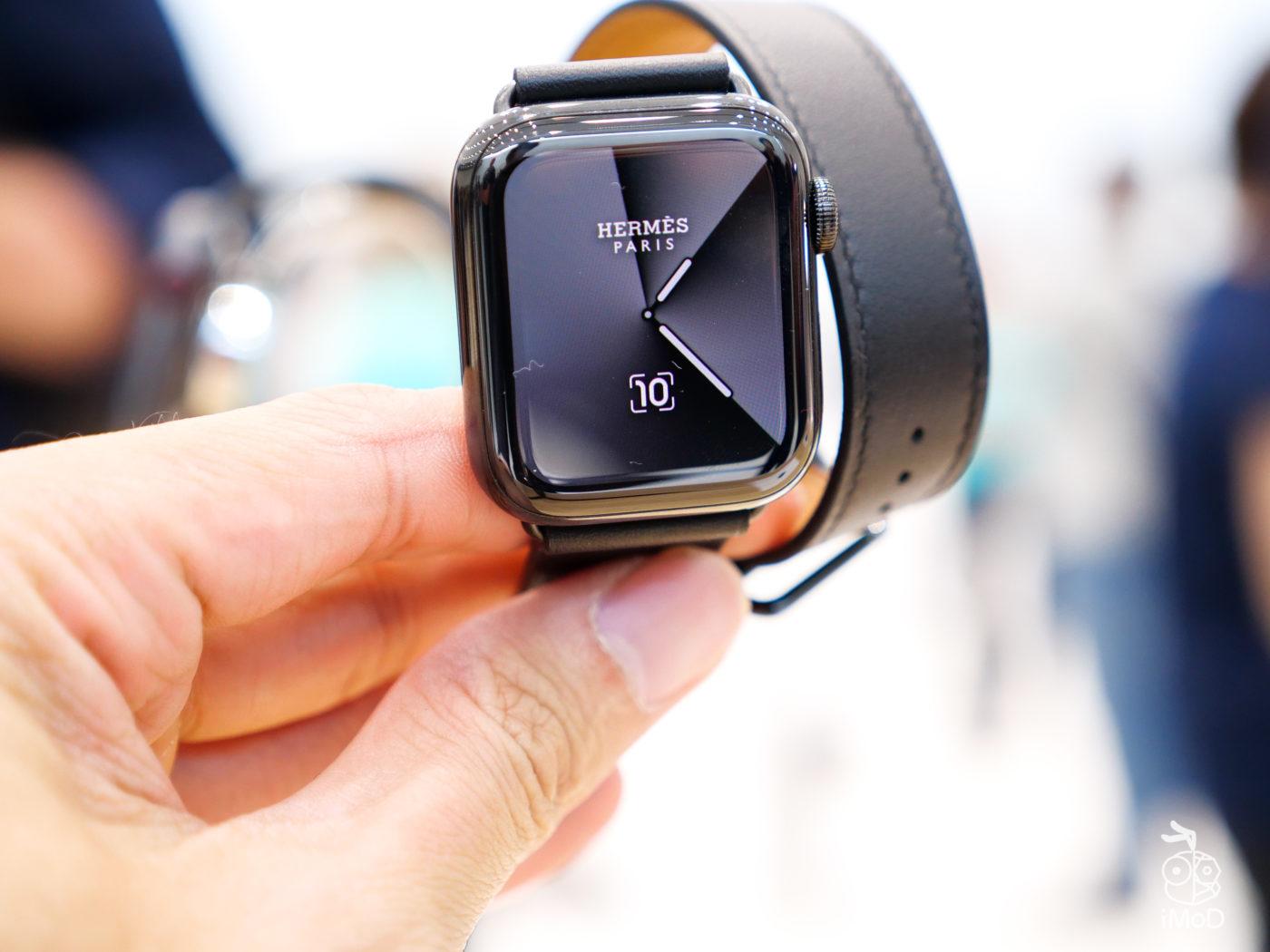 Apple Watch Series 5 Hermes Space Black 1011210